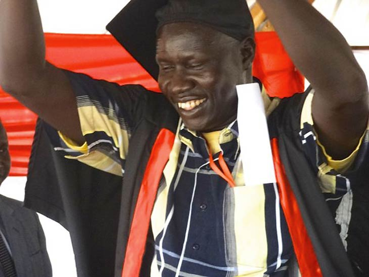 Happy Rumbek Graduate