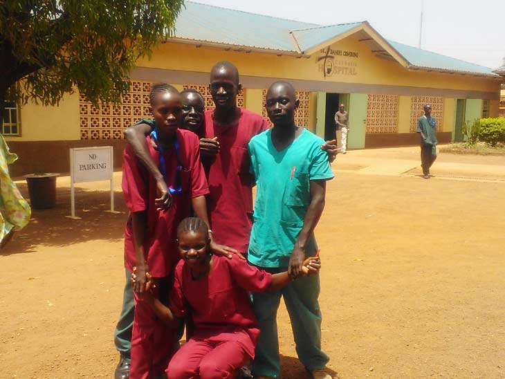 South Sudan education students