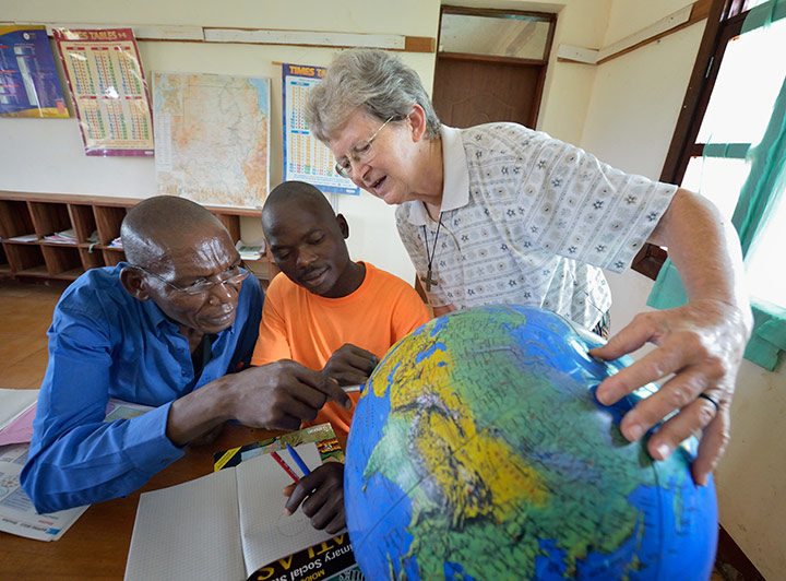 Sisters in South Sudan: Carolyn Buhs, SNDdeN
