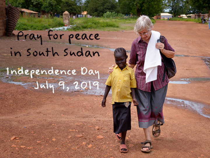 Prayer for South Sudan: Independence Day July 9