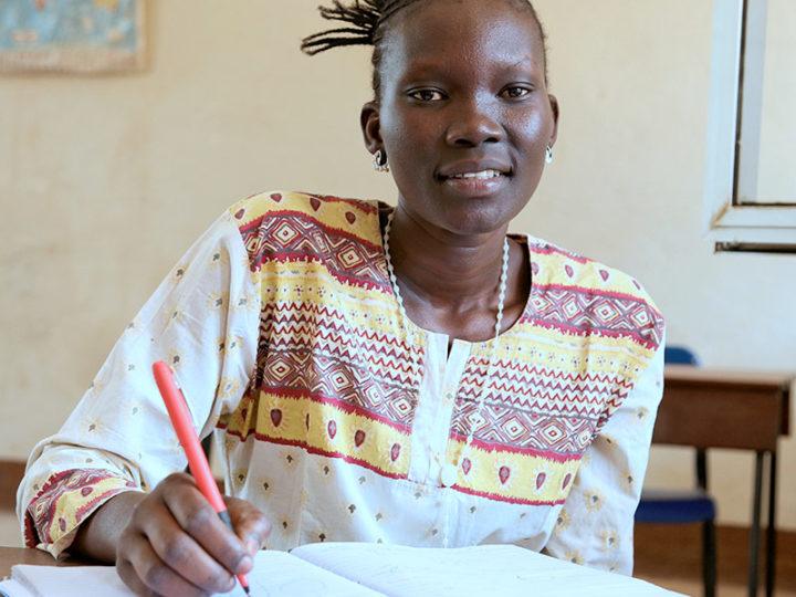 Nursing student Margaret Namoyo