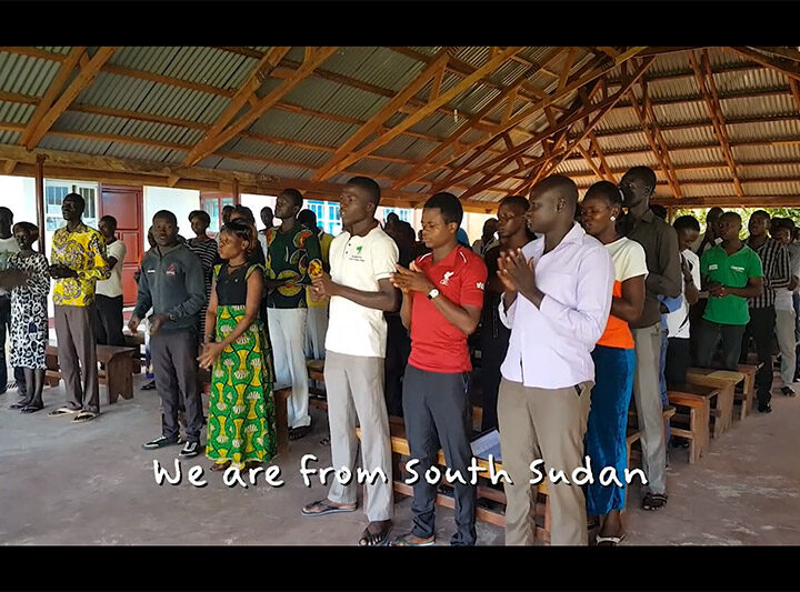 We are from South Sudan